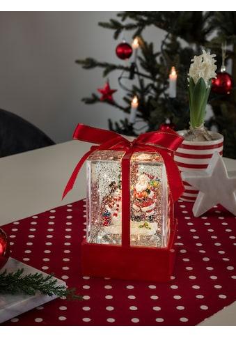 KONSTSMIDE LED Weihnachtsgeschenk mit Weihnachtsmann & Schneemann kaufen