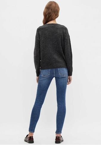 pieces V-Ausschnitt-Pullover »PCPERLA« kaufen