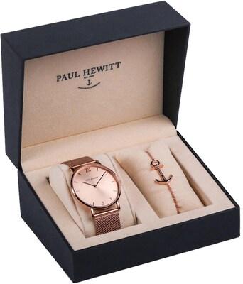 Geschenkset von Paul Hewitt mit Damenuhr und Armband