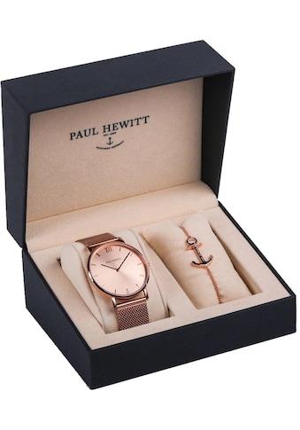 PAUL HEWITT Quarzuhr »Perfect Match, PH-PM-1«, (Set, 2 tlg., mit Armband) kaufen