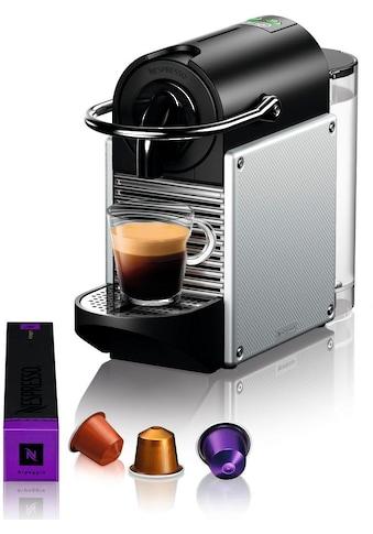 Nespresso Kapselmaschine »De'Longhi Pixie EN 124.S«, nur 11 cm breit mit Seitenteilen... kaufen