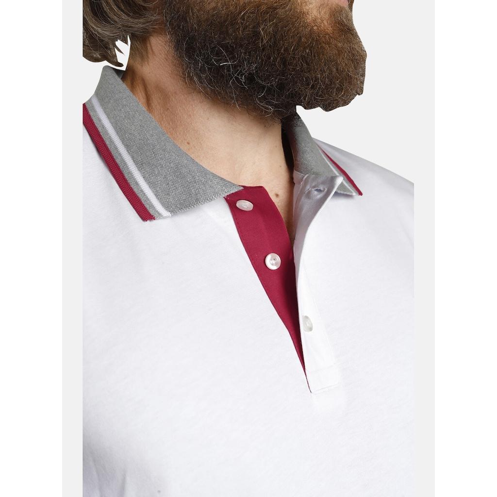 Jan Vanderstorm Poloshirt »JOHAN«, in zwei modischen Designs