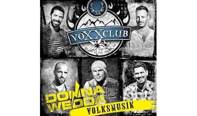 Musik-CD »Donnawedda-Volksmusik / Voxxclub« kaufen