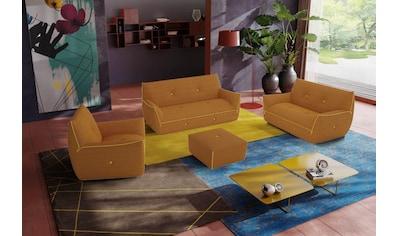 Egoitaliano Polstergarnitur »Yuki«, Set, bestehend aus einem 2,5- und einem 2-Sitzer... kaufen