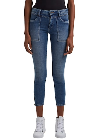 edc by Esprit Ankle-Jeans, mit coolen Reißverschlüssen am Bein kaufen