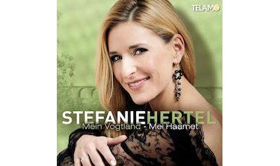 Musik-CD »Mein Vogtland-Mei Haamet / Hertel,Stefanie« kaufen