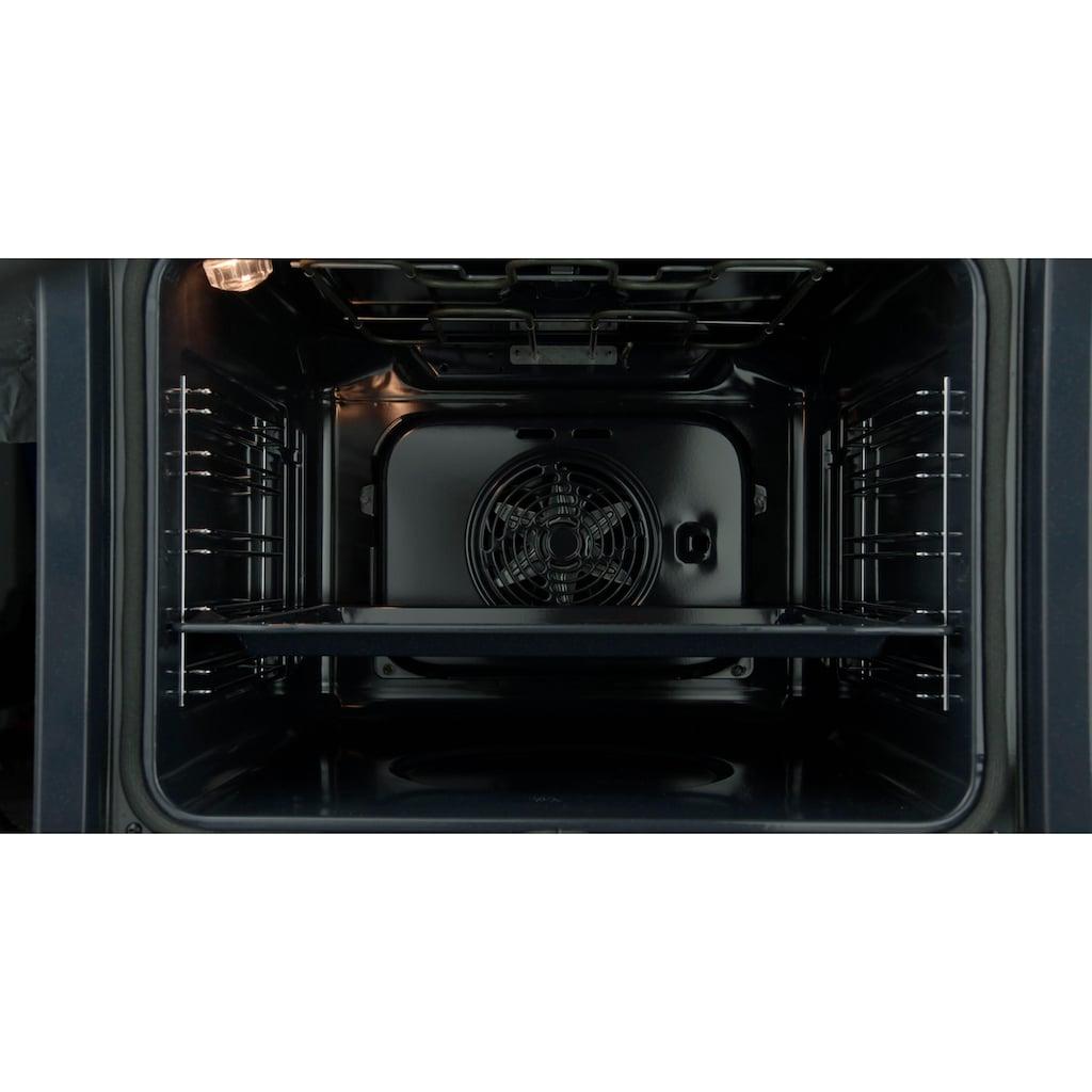 BAUKNECHT Einbaubackofen »BAR2S K8 V2 IN«, BAR2S K8 V2 IN, mit Backauszug, mit Dampffunktion