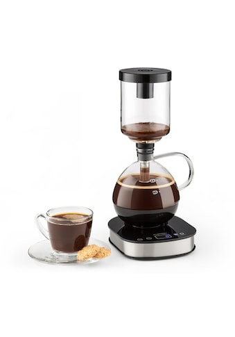Klarstein Syphon - Kaffeemaschine 360° Basis LCD - Display 500W Glas »Drop« kaufen