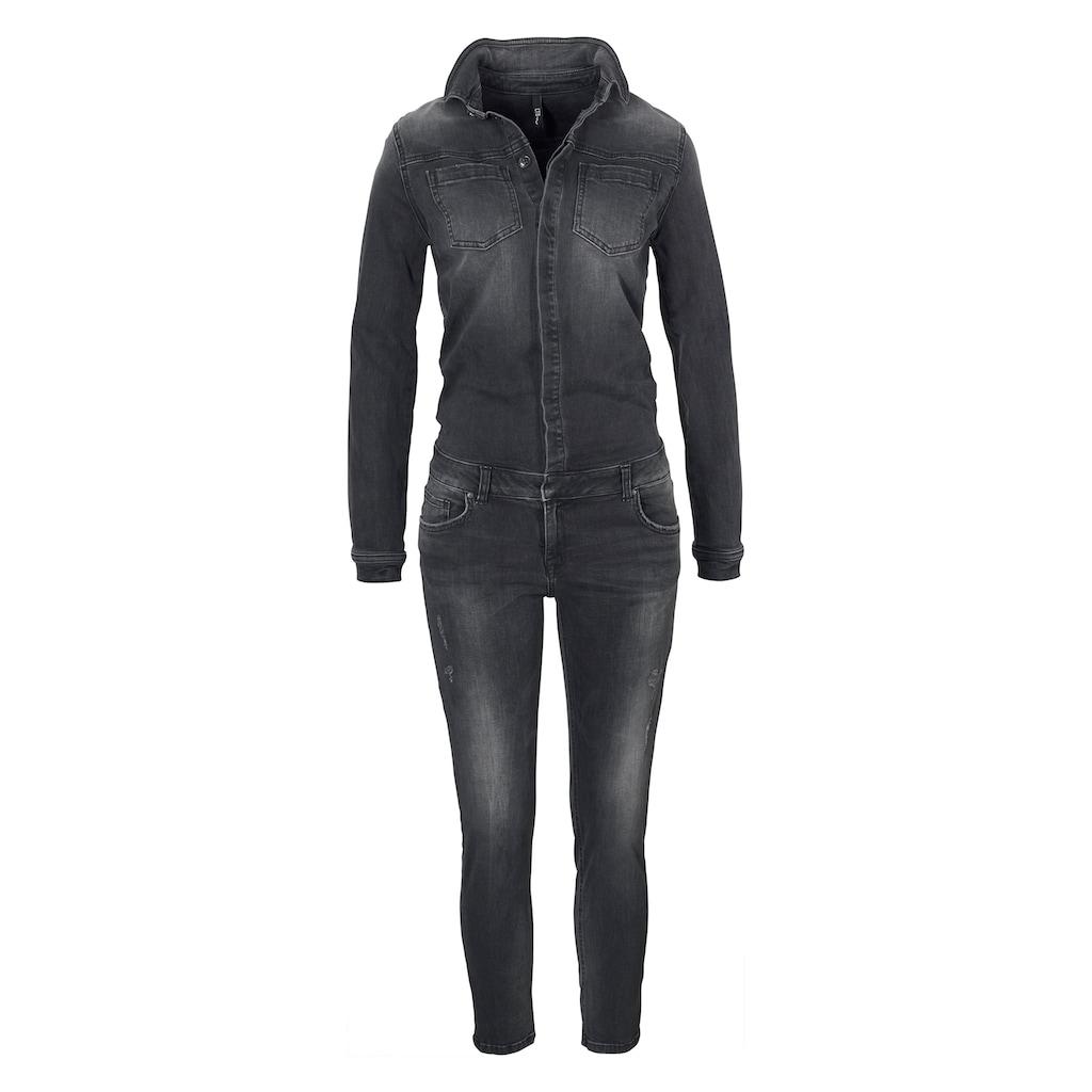 LTB Jumpsuit »NANCIE X«, mit leichter Waschug für einen lässigen Look