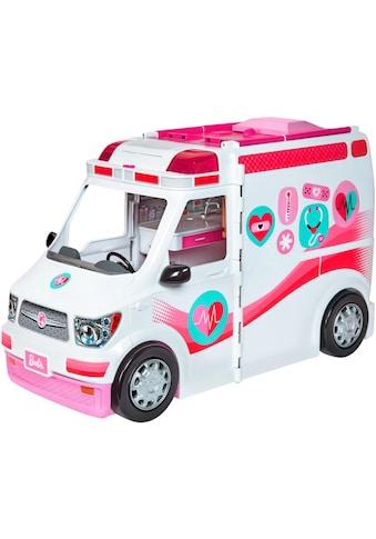 Mattel® Puppen Fahrzeug »Barbie Krankenwagen 2-in-1 Spielset«, mit Licht & Geräuschen kaufen