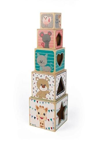 Janod Stapelspielzeug »Sophie la Girafe Stapelpyramide« kaufen