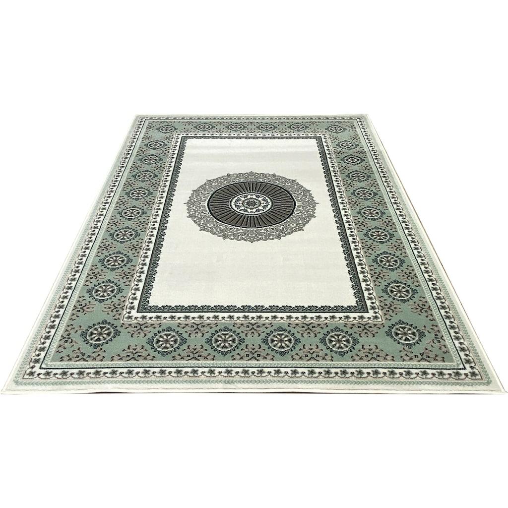 DELAVITA Teppich »Shari«, rechteckig, 7 mm Höhe, Orient - Dekor, Wohnzimmer