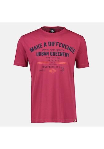 LERROS T-Shirt, mit Brustprint, in Großen Größen kaufen