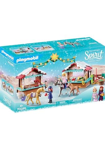 Playmobil® Konstruktions-Spielset »Weihnachten in Miradero (70395), Spirit Riding Free«, ; Made in Germany kaufen