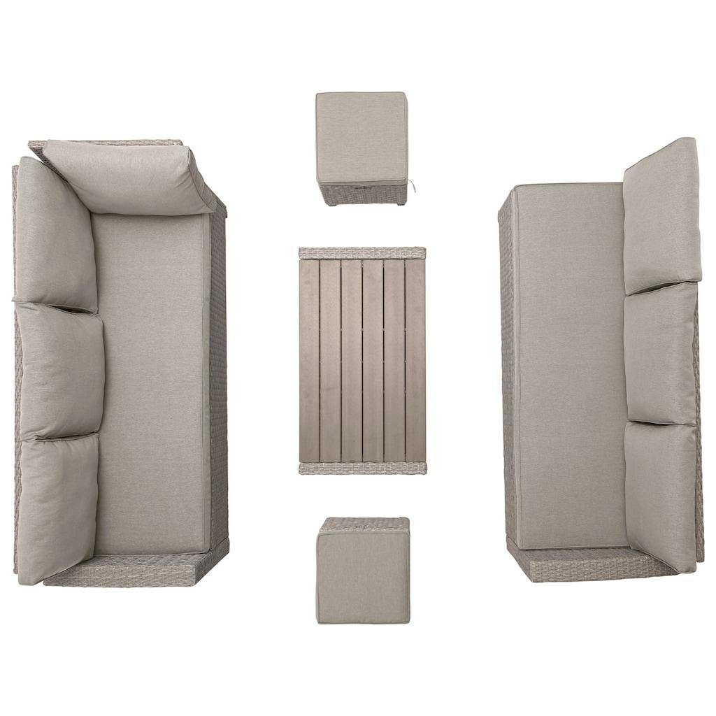 KONIFERA Loungeset »Lorca de luxe«