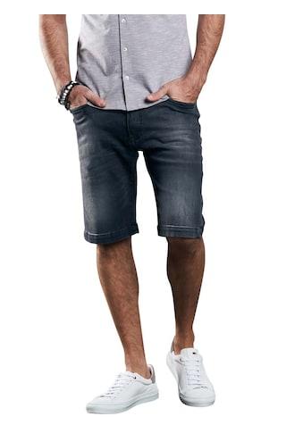 emilio adani Elastische Jeans-Shorts mit modischer Waschung kaufen