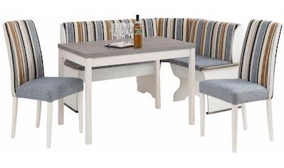 Home affaire Essgruppe »Denis«, (Set, 3 St.), Set bestehend aus Essbank, Tisch und 2... kaufen