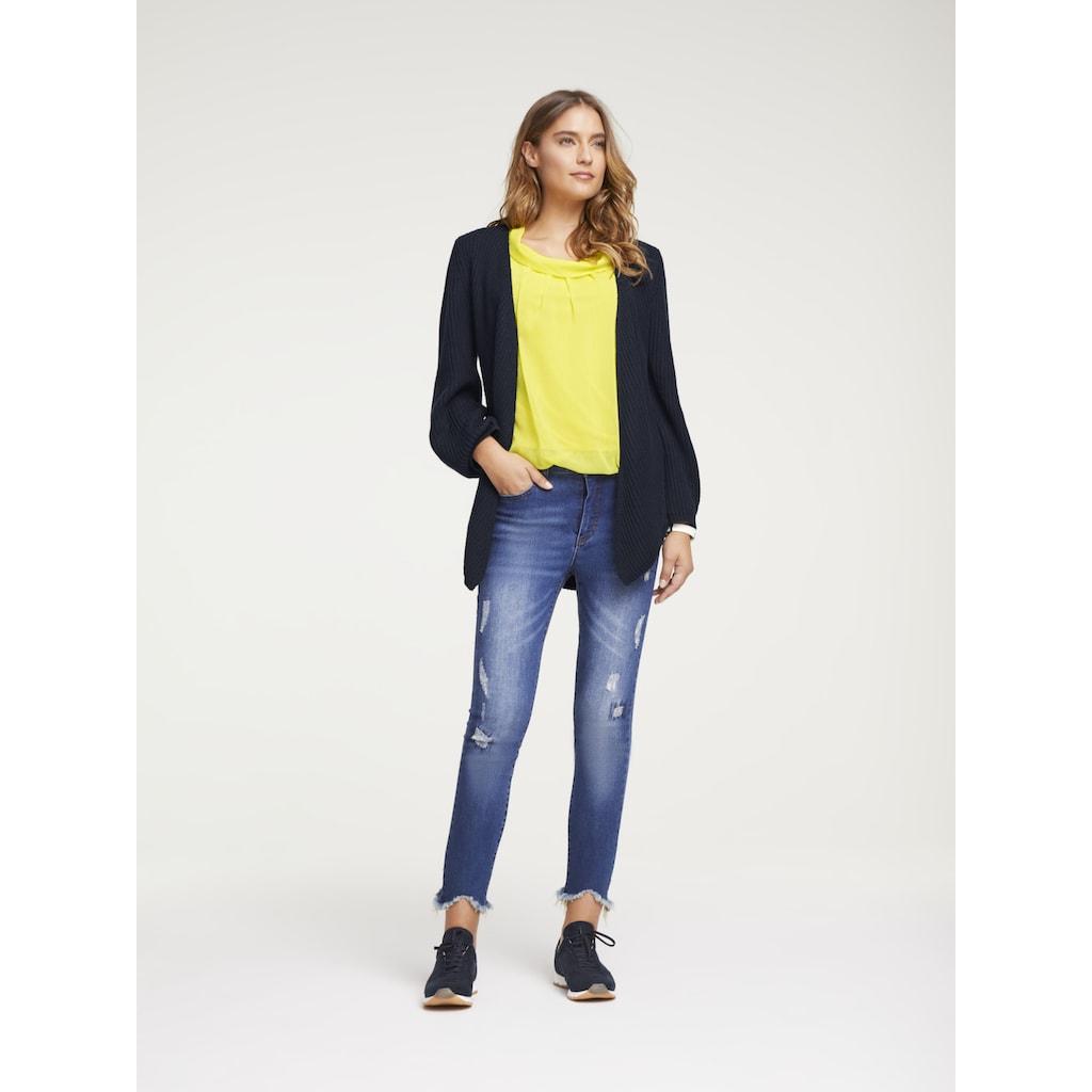 LINEA TESINI by Heine Skinny-fit-Jeans, mit Push-up Effekt