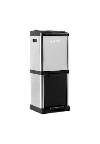 Klarstein Mülleimer Mülltrenner 30L (1 x15L, 2x7,5 L) kaufen