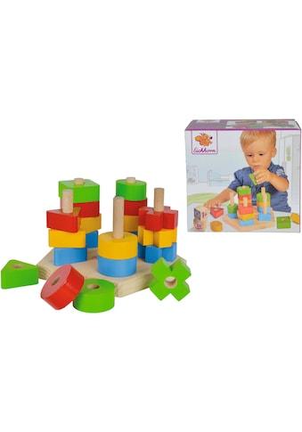 Eichhorn Steckspielzeug »Steckspiel«, aus Holz; Made in Europe kaufen