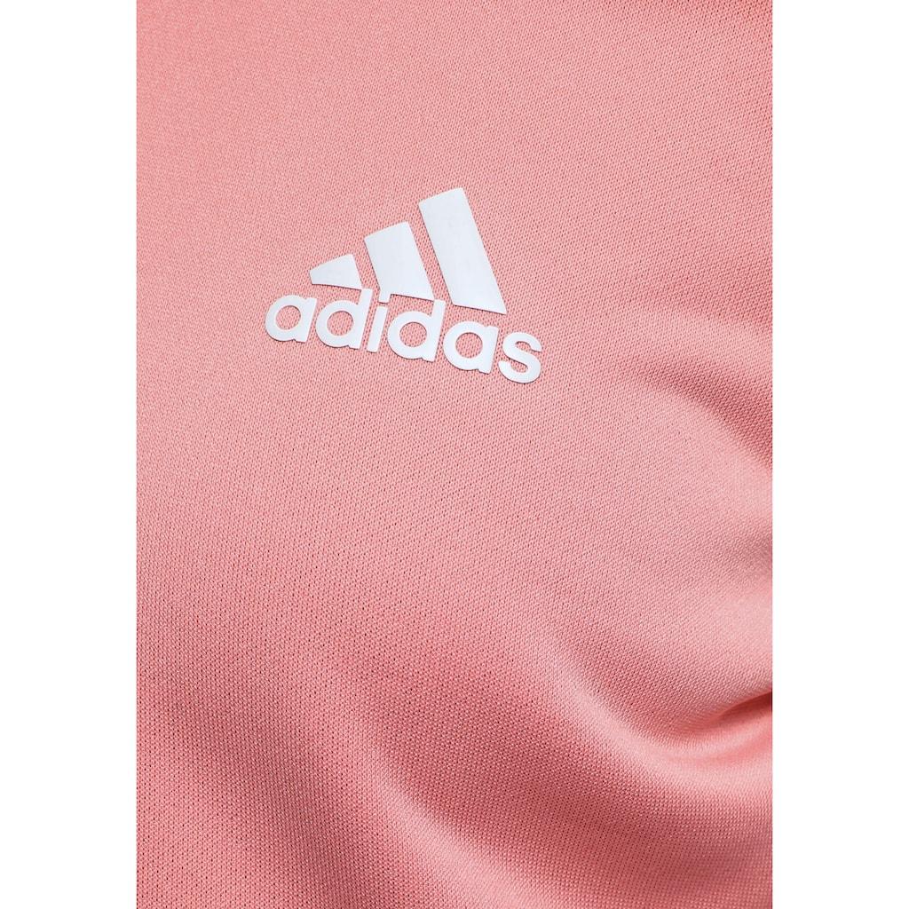 adidas Performance Trainingsanzug »YG HOOD PES TS«, (Set, 2 tlg.)