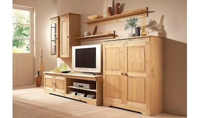 Home affaire Wohnwand, (Set, 4 St.), Set aus: 2 Hängeschränken, Lowboard und Kommode kaufen