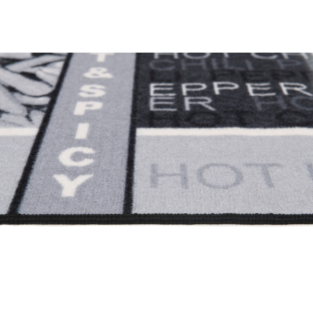 Andiamo Küchenläufer »Hot Pepper«, rechteckig, 5 mm Höhe, Motiv Peperoni