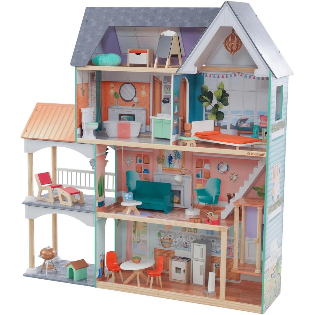 KidKraft® Puppenhaus »Dahlia Mansion«, inklusive Möbel