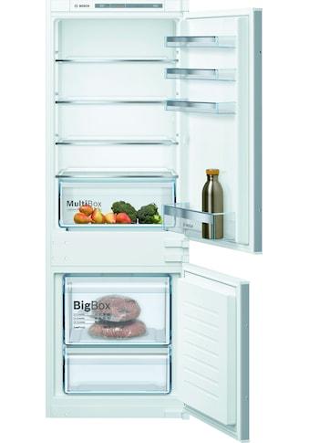 BOSCH Einbaukühlgefrierkombination »KIV77VSF0«, 4 kaufen