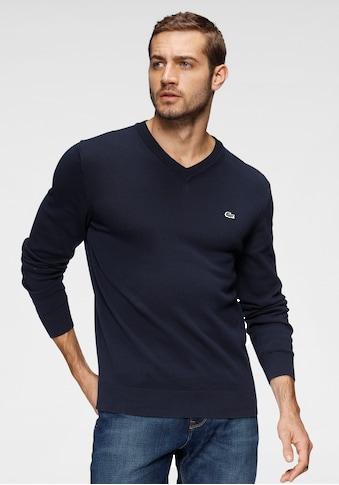 Lacoste V - Ausschnitt - Pullover kaufen