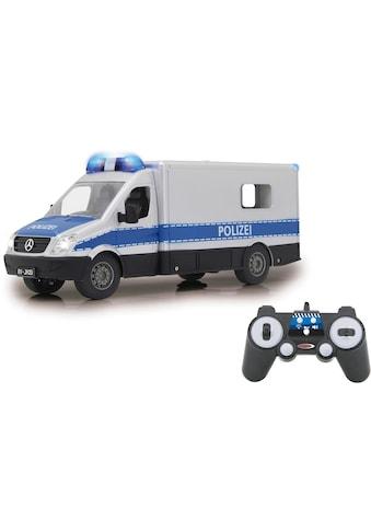 Jamara RC-Auto »Mercedes-Benz Polizei Einsatzwagen«, mit Signalleuchte und LED-Fahrlicht kaufen