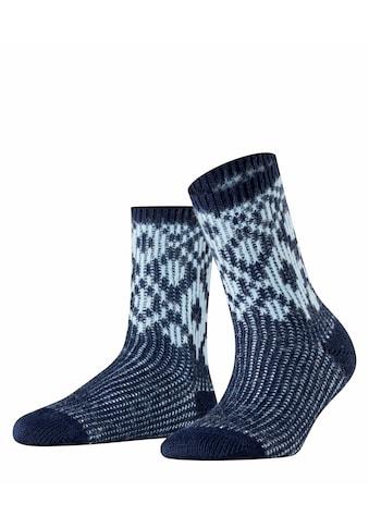 Esprit Socken »Diamond«, (1 Paar), mit Wollanteil kaufen