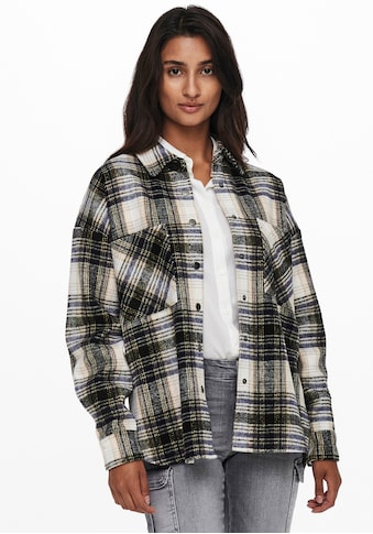 Only Hemdjacke »ONLPIA L/S PLAIDED SHIRT«, in Oversize Form kaufen