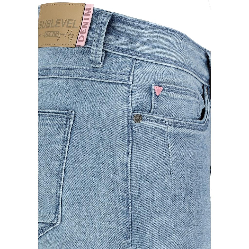 SUBLEVEL Skinny-fit-Jeans, im 5-Pocket-Look