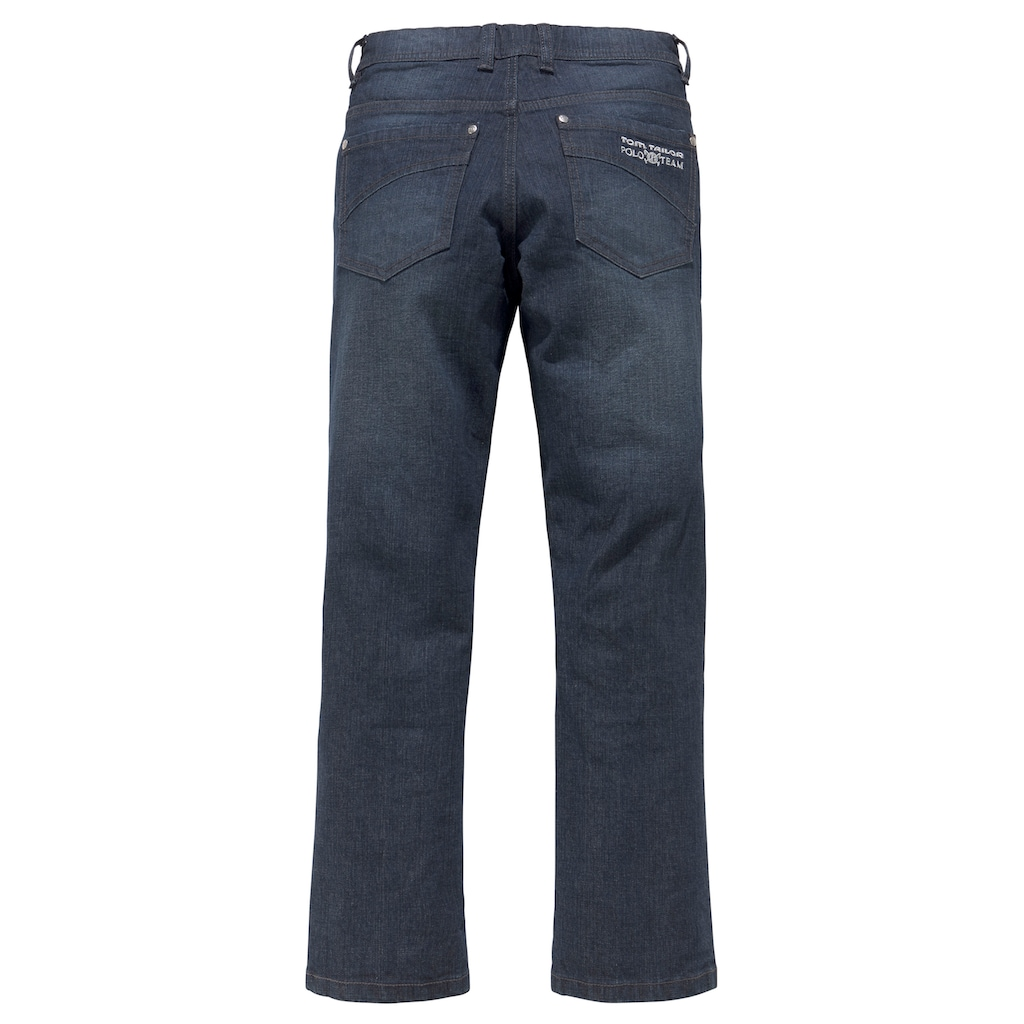 TOM TAILOR Polo Team Stretch-Jeans, reguar fit mit geradem Bein