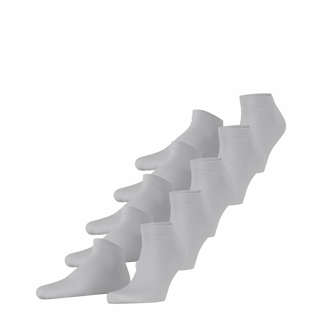Esprit Sneakersocken »Solid 5-Pack«, (5 Paar), One size fits all (Gr. 40-46)