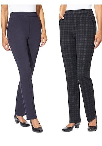 Classic Basics Jersey - Hose mit streckenden Bügelfalten kaufen