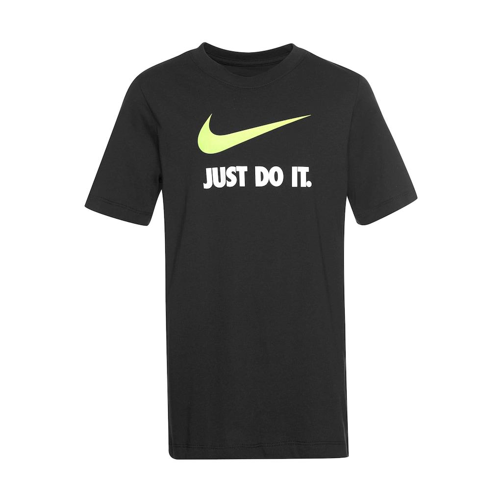 Nike Sportswear T-Shirt »BOYS NIKE SPORTSWEAR TEE JUST DO IT SWOOSH«