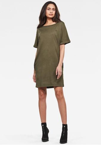 G-Star RAW Jerseykleid »Joosa dress«, mit Rundhalsauschnitt kaufen