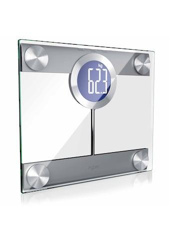 MyBeo Digitale Körperwaage im Glas Design kaufen