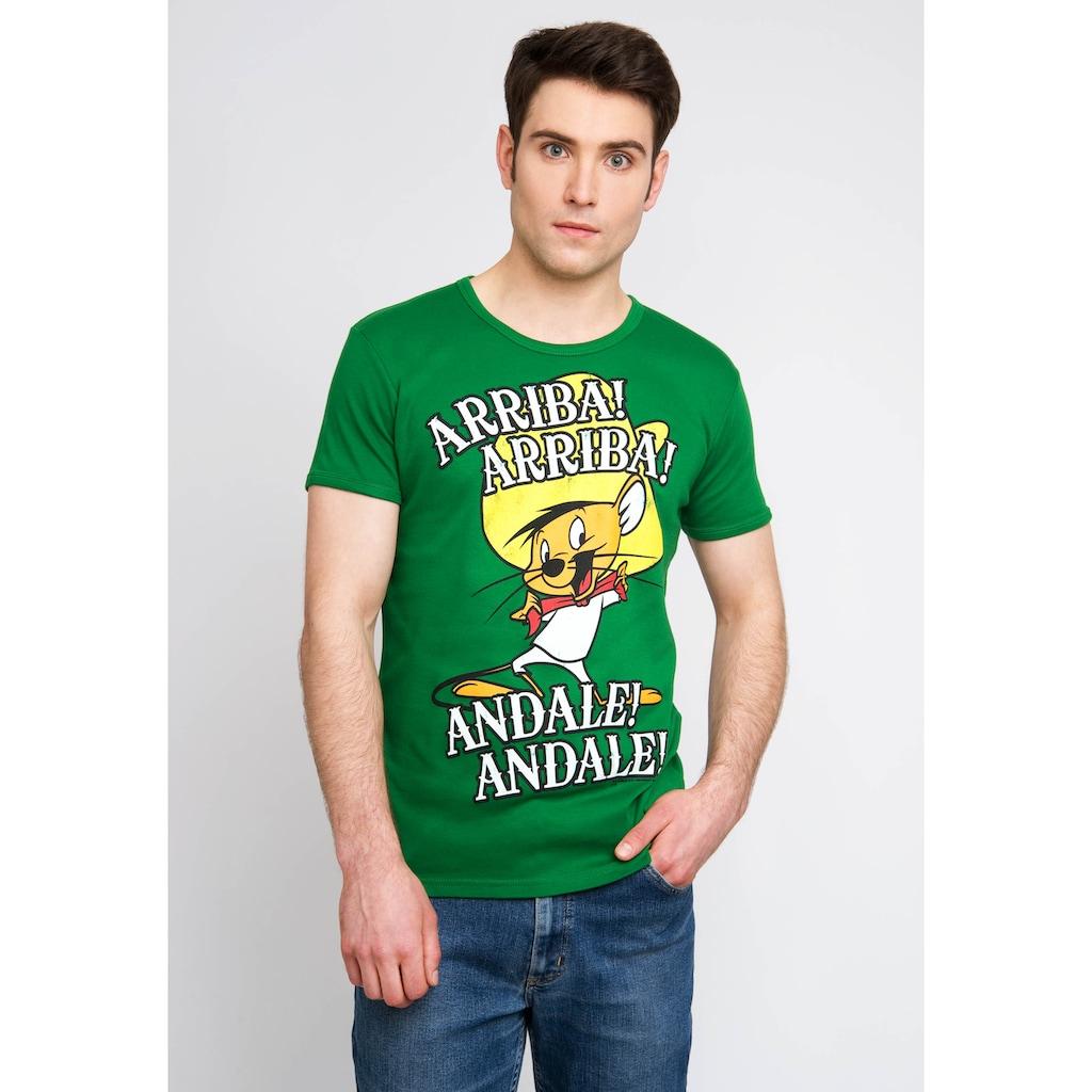 LOGOSHIRT T-Shirt mit Speedy Gonzales Aufdruck