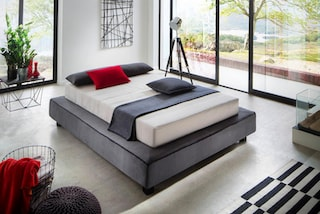 places of style boxspringbett daisuke in futonoptik bestellen bei otto. Black Bedroom Furniture Sets. Home Design Ideas