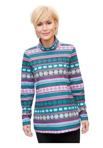 Shirt mit farbenfrohem Muster kaufen