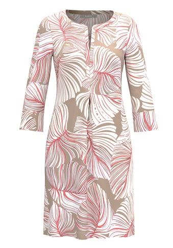 bianca Sommerkleid »DANILO«, im stylischen Blätterprint kaufen