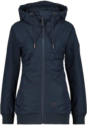 Alife & Kickin Outdoorjacke »Black MambaAK«, leichte Jacke mit femininen Raffungen,... kaufen