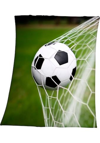 Kinderdecke »Fußball im Netz«, Herding Young Collection kaufen