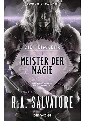 Buch »Die Heimkehr 1 - Meister der Magie / R.A. Salvatore, Imke Brodersen« kaufen
