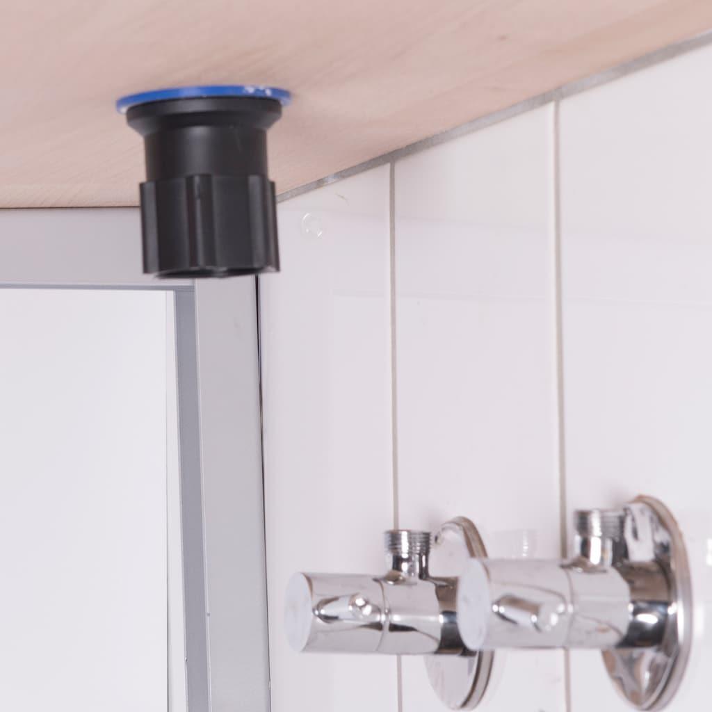 CORNAT Küchenarmatur »Spültisch Einhebelmischer«, Flexibler Auslauf-Silikonschlauch, Hochdruck