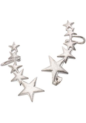 Firetti Paar Ohrstecker mit Ohrklemme »Sterne« kaufen
