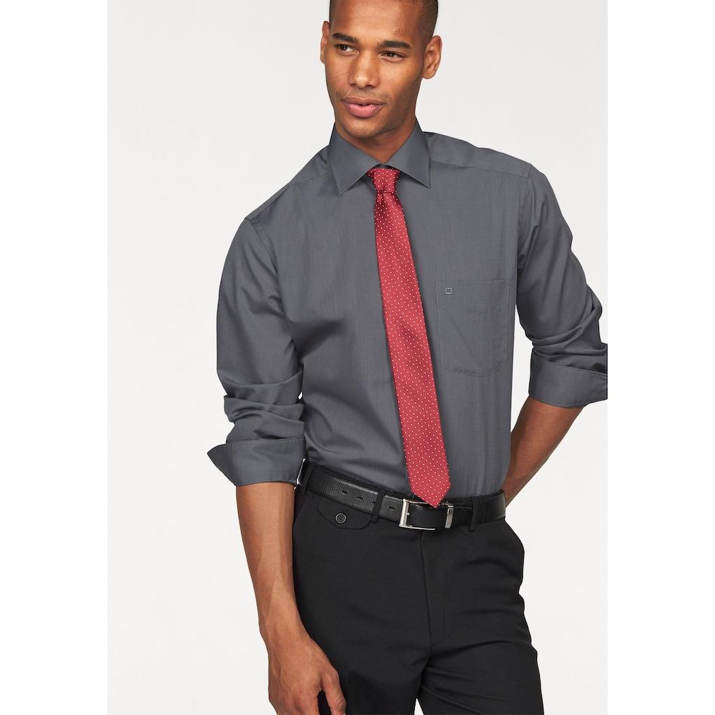 OLYMP Businesshemd »Luxor modern fit«, extra lange Ärmel, bügelfrei, mit Brusttasche, unifarben